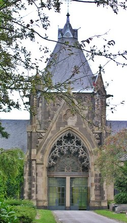 Westfriedhof II in Aachen