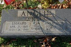 Anna Dell <i>Dixon</i> Anglin
