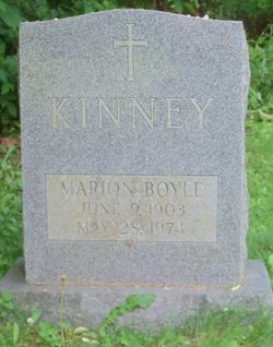 Marion <i>Boyle</i> Kinney