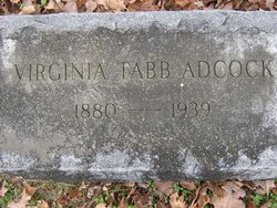 Virginia Tabb <i>Beattie</i> Adcock