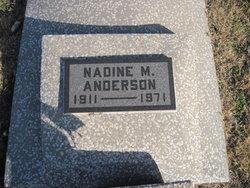Nadine M. Anderson