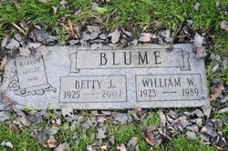 Betty J. <i>Anderson</i> Blume
