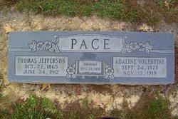 Adaline E. <i>Volentine</i> Pace