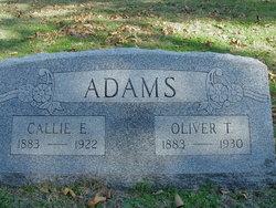 Callie E Adams