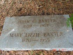 Mary Lizzie <i>Neveils</i> Baxter