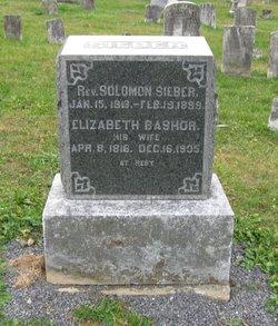 Rev Solomon Sieber