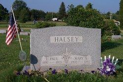 Mary Alvira <i>Anderson</i> Halsey