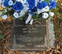 Annie Ruth <i>Hornback</i> Baucom