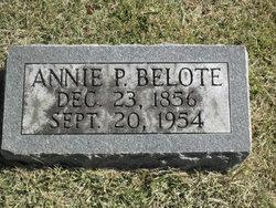 Annie <i>Pearce</i> Belote