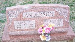 Lena R <i>Bradley</i> Anderson