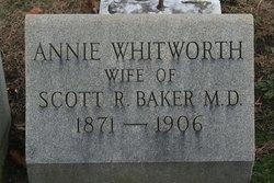 Annie <i>Whitworth</i> Baker