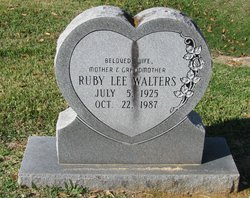 Ruby Lee <i>Schexnyder</i> Walters