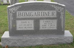 Emma Lucinda <i>Clay</i> Bomgardner