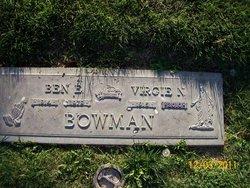 Virgie N. <i>Dawson</i> Bowman