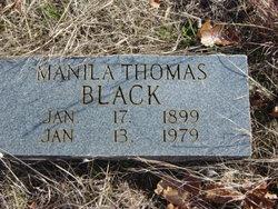 Manila Thomas Black