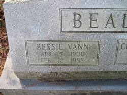 Bessie Vann Beale