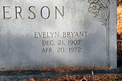 Evelyn <i>Bryant</i> Anderson