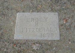Ercey H. Fitzgerald