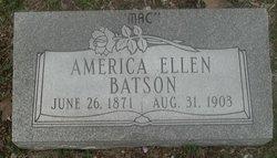 America Ellen <i>Laney</i> Batson