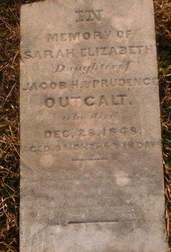 Sarah Elizabeth Outcalt