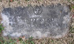Pvt Andy C. Byrd