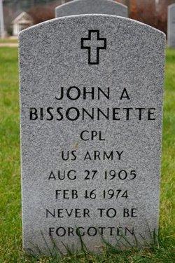 Corp John A. Jean Bissonette