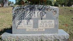 Maryland Reid
