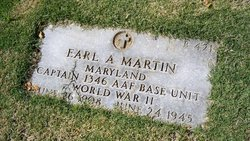 Capt Earl A Martin