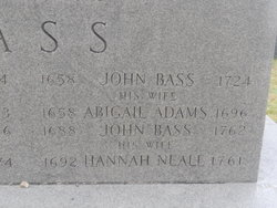 Abigail <i>Adams</i> Bass