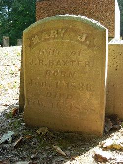 Mary Jane <i>Applegate</i> Baxter