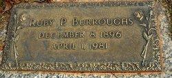 Ruby <i>Holloway</i> Burroughs