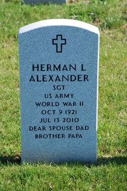 Herman L Alexander