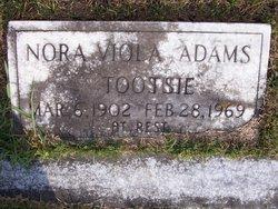 Nora Viola Tootsie <i>Howell</i> Adams