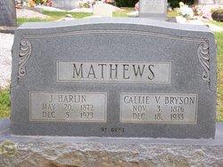 John Harlin Mathews, Jr