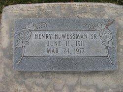 Henry Hayward Wessman, Sr