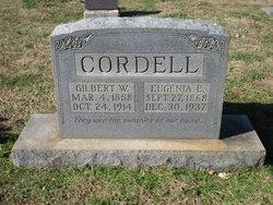 Eugenia Elizabeth <i>Johnson</i> Cordell