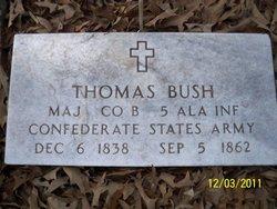 Maj Thomas Bush