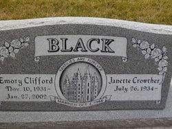 Janette <i>Crowther</i> Black