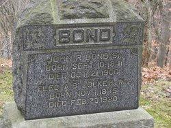 Electa B. <i>Locke</i> Bond