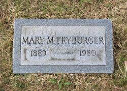 Mary E. <i>Maher</i> Fryburger