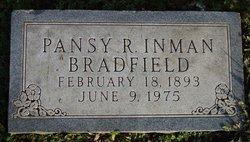 Pansy Ruth <i>Jackson</i> Bradfield