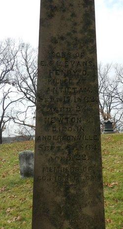 Henry D Evans