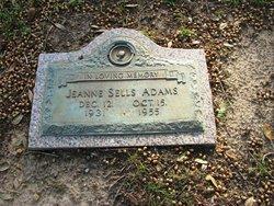 Jeanne <i>Sells</i> Adams