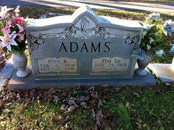 Faye <i>Blackburn</i> Adams