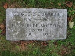 E Gertrude <i>Mordecai</i> Cronogue