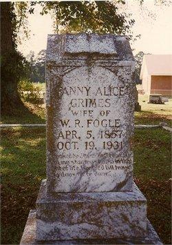 Fannie Alice <i>Grimes</i> Fogle