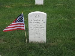 PFC Robert W Bennington
