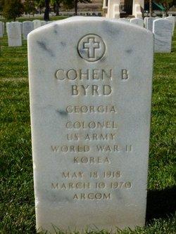 Col Cohen B Byrd