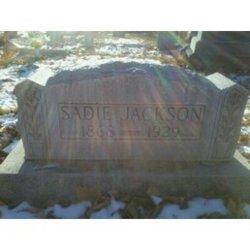 Sarah Catherine Sadie <i>Griffith</i> Jackson