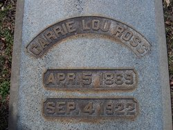Carrie Lou Ross
